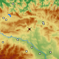 Nearby Forecast Locations - Estella-Lizarra - Χάρτης
