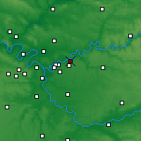 Nearby Forecast Locations - Lagny-sur-Marne - Χάρτης