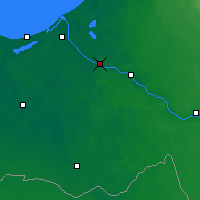 Nearby Forecast Locations - Salaspils - Χάρτης