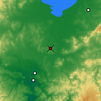 Nearby Forecast Locations - Yaroslavsky - Χάρτης