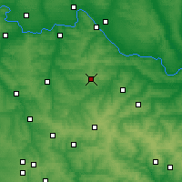 Nearby Forecast Locations - Popasna - Χάρτης