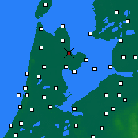 Nearby Forecast Locations - Medemblik - Χάρτης