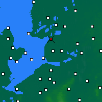 Nearby Forecast Locations - Lemmer - Χάρτης