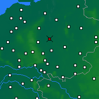 Nearby Forecast Locations - Deventer - Χάρτης