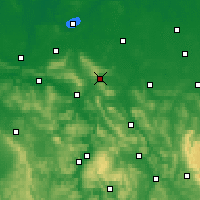 Nearby Forecast Locations - Springe - Χάρτης