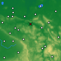 Nearby Forecast Locations - Rinteln - Χάρτης
