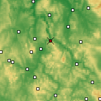 Nearby Forecast Locations - Hann. Münden - Χάρτης