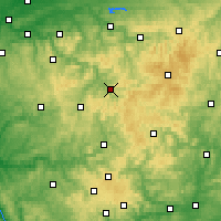 Nearby Forecast Locations - Lennestadt - Χάρτης