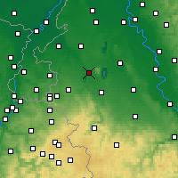Nearby Forecast Locations - Jülich - Χάρτης