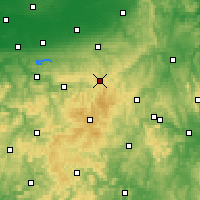 Nearby Forecast Locations - Brilon - Χάρτης