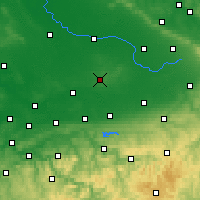 Nearby Forecast Locations - Beckum - Χάρτης