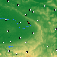 Nearby Forecast Locations - Schloß Holte-Stukenbrock - Χάρτης