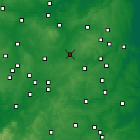 Nearby Forecast Locations - Wigston Magna - Χάρτης
