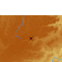 Nearby Forecast Locations - Kamina - Χάρτης