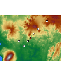Nearby Forecast Locations - Loum - Χάρτης