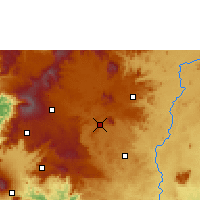 Nearby Forecast Locations - Foumbot - Χάρτης