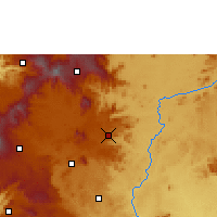 Nearby Forecast Locations - Foumban - Χάρτης