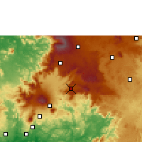 Nearby Forecast Locations - Bafang - Χάρτης