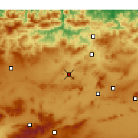 Nearby Forecast Locations - Teleghma - Χάρτης