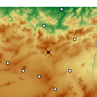 Nearby Forecast Locations - Sedrata - Χάρτης