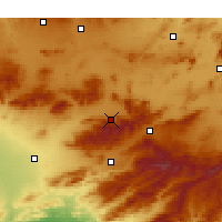 Nearby Forecast Locations - Merouana - Χάρτης