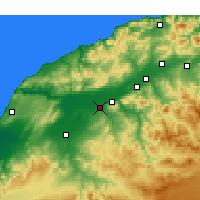 Nearby Forecast Locations - Djidioua - Χάρτης