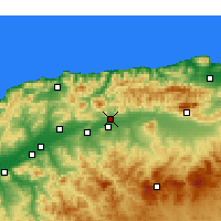 Nearby Forecast Locations - El Abadia - Χάρτης