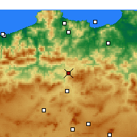 Nearby Forecast Locations - Didouche Mourad - Χάρτης