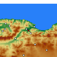 Nearby Forecast Locations - Amizour - Χάρτης