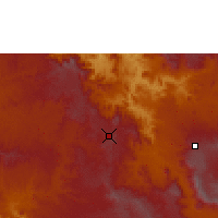 Nearby Forecast Locations - Gimbi - Χάρτης