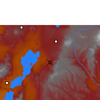 Nearby Forecast Locations - Dila - Χάρτης