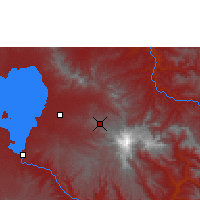 Nearby Forecast Locations - Debre Tabor - Χάρτης
