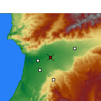 Nearby Forecast Locations - Oulad Teima - Χάρτης