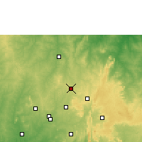 Nearby Forecast Locations - Offa - Χάρτης