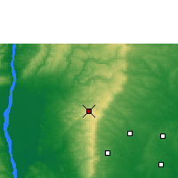 Nearby Forecast Locations - Nsukka - Χάρτης