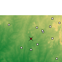 Nearby Forecast Locations - Iwo - Χάρτης