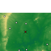 Nearby Forecast Locations - Isieke - Χάρτης