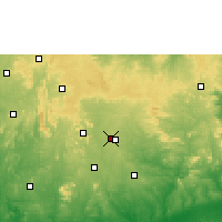 Nearby Forecast Locations - Ise Ekiti - Χάρτης