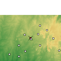 Nearby Forecast Locations - Ilobu - Χάρτης