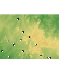 Nearby Forecast Locations - Ila Orangun - Χάρτης