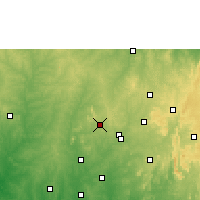 Nearby Forecast Locations - Ejigbo - Χάρτης