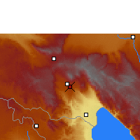 Nearby Forecast Locations - Tukuyu - Χάρτης