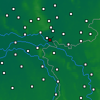 Nearby Forecast Locations - Zevenaar - Χάρτης