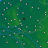 Nearby Forecast Locations - Zutphen - Χάρτης
