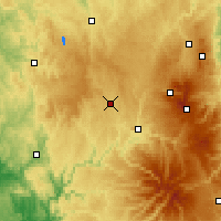Nearby Forecast Locations - Ussel - Χάρτης
