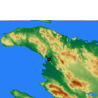 Nearby Forecast Locations - Gonaïves - Χάρτης