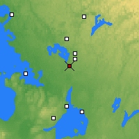 Nearby Forecast Locations - Gravenhurst - Χάρτης