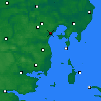 Nearby Forecast Locations - Egå - Χάρτης