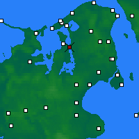 Nearby Forecast Locations - Frederikssund - Χάρτης