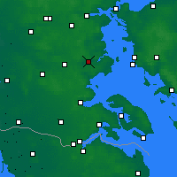 Nearby Forecast Locations - Haderslev - Χάρτης